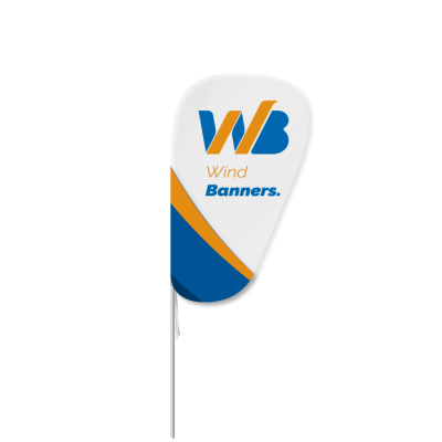 Fly Banner Oval Mini